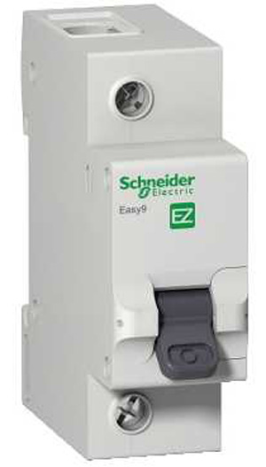 Диф. автомат Schneider electric Easy9 ez9r14225 передняя панель schneider electric с вырезом 5 модулей 03205