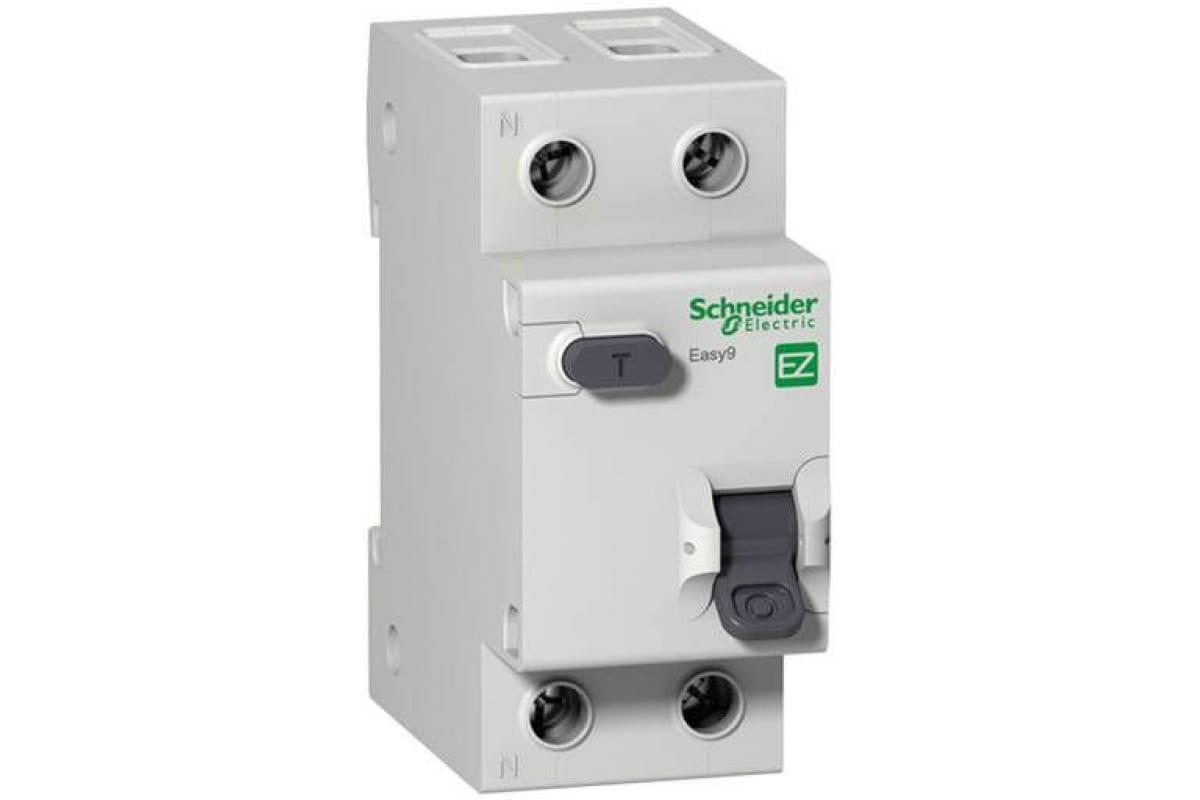 Диф. автомат Schneider electric Easy9 ez9r34263 передняя панель schneider electric с вырезом 5 модулей 03205