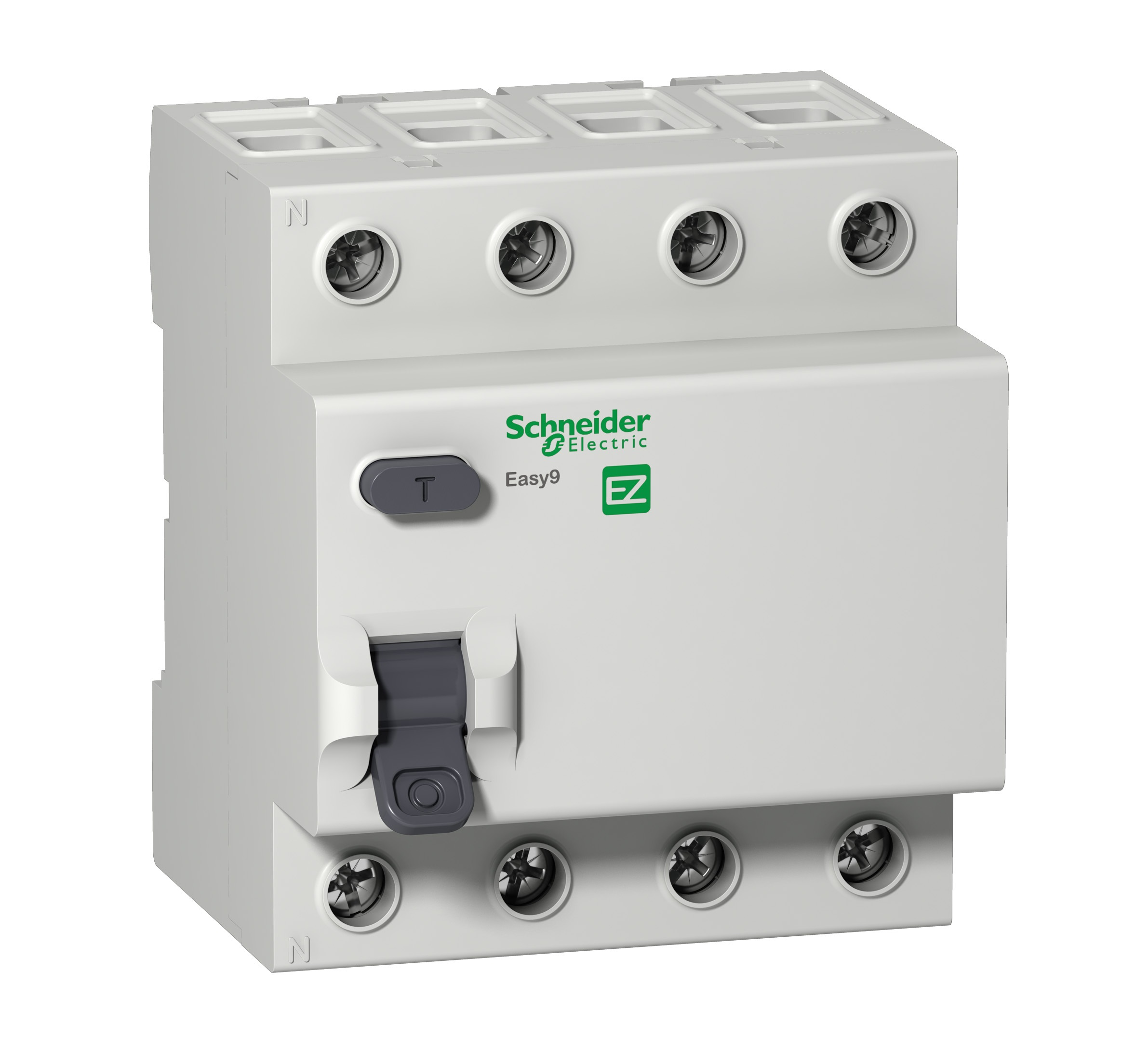Диф. автомат Schneider electric Easy9 ez9r34463 передняя панель schneider electric с вырезом 5 модулей 03205