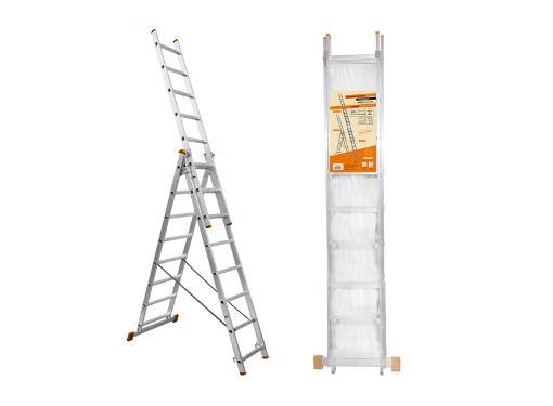 Универсальная лестница трехсекционная TDM SQ1028-0202