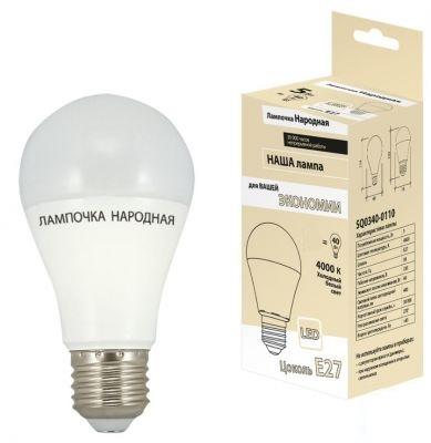 Лампа светодиодная Tdm Sq0340-0109