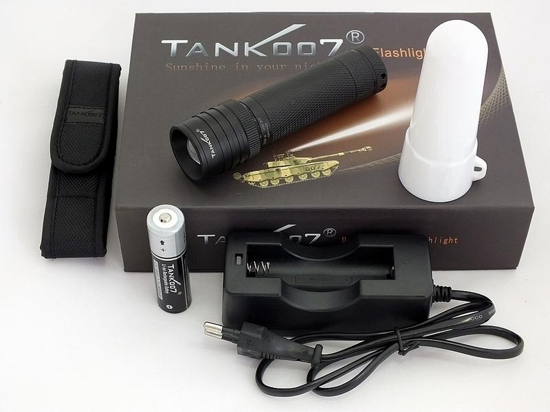 Фонарь Tank007 Tk737r5 крепление для фонаря велосипедное tank007