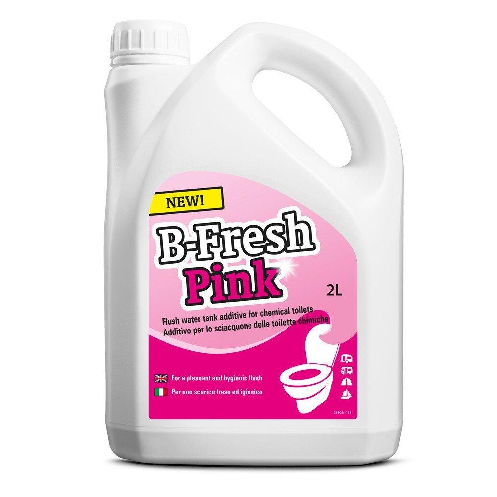 Жидкость Thetford Pink жидкость для септиков и биотуалетов thetford cassete tank cleaner 1 л