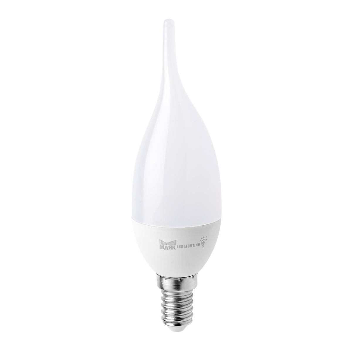 Лампа светодиодная МАЯК C30l/e14/6w/3000k 30 11 30 3000