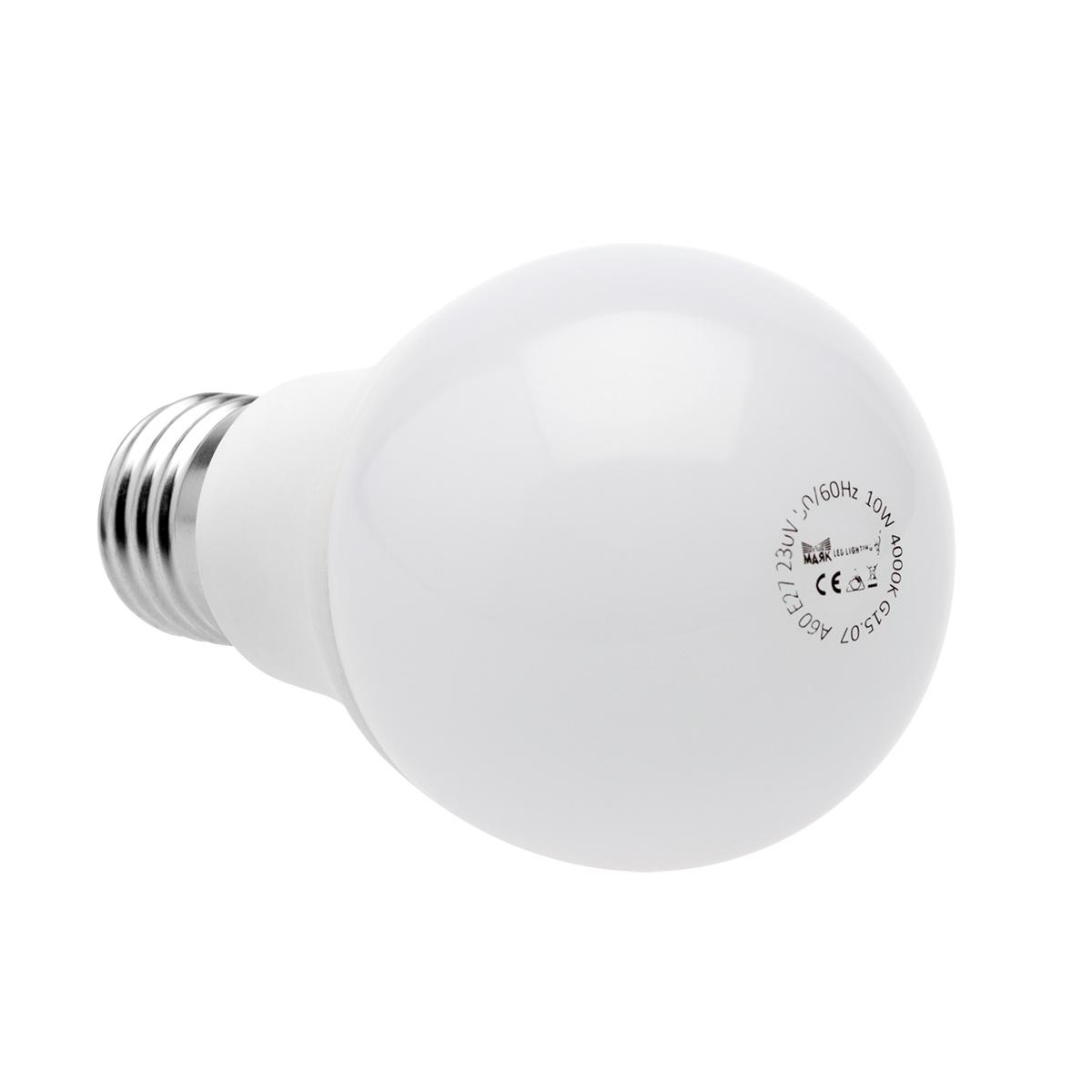 Лампа светодиодная МАЯК A60/e27/10w/4000k/d