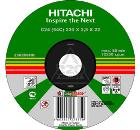 Круг отрезной HITACHI 230х3х22 А24 упак. 25 шт.
