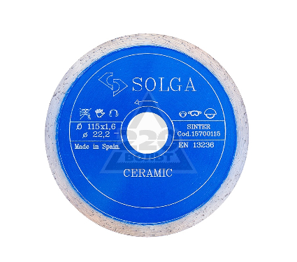 Круг алмазный SOLGA DIAMANT 15700115
