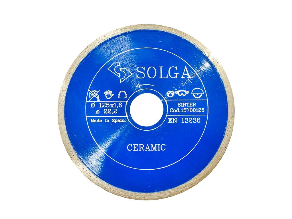 Круг алмазный Solga diamant 15700125 отрезная система festool diamant dsg ag 125 768997