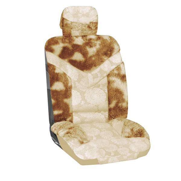 Чехол SkywayЧехлы на сиденья<br>Тип: чехол,<br>Материал: искусственный мех,<br>Цвет: коричневый<br>