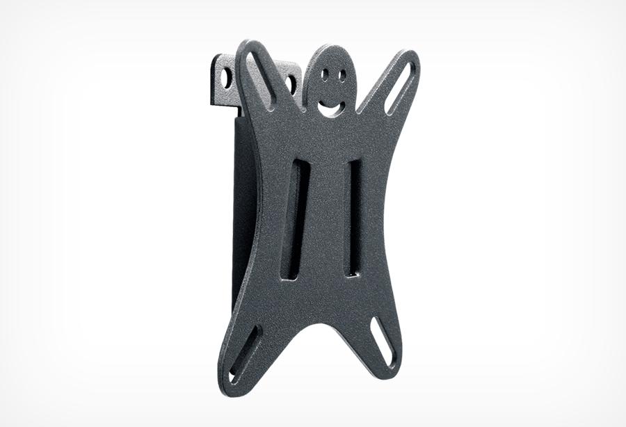 Кронштейн Holder Lcds-5001 кронштейн holder lcds 5001 vesa 75 100 до 25кг фиксир черн для телевизора
