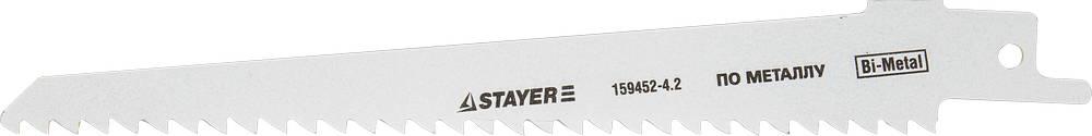 Полотно для сабельной пилы Stayer Profi s611df лезвия stayer profi сегментированные 18мм 10шт 0915 s10
