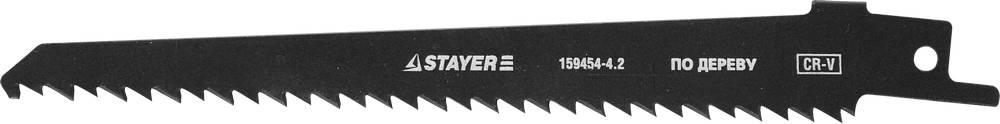 Полотно для сабельной пилы Stayer Profi s644d быстр чистый прям и фигур рез полотно для сабельной пилы stayer profi s922ef