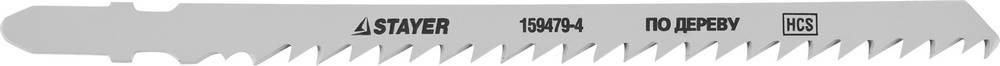 Пилки для лобзика Stayer Standard159479-4 пилки для лобзика по металлу для прямых пропилов bosch t118a 1 3 мм 5 шт