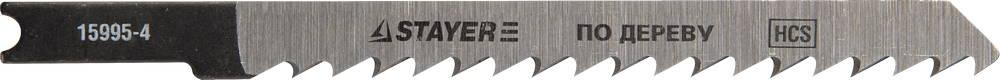 Пилки для лобзика Stayer Profi 15995-4 тонкогубцы для зачистки проводов stayer profi 22027 3 16 z01