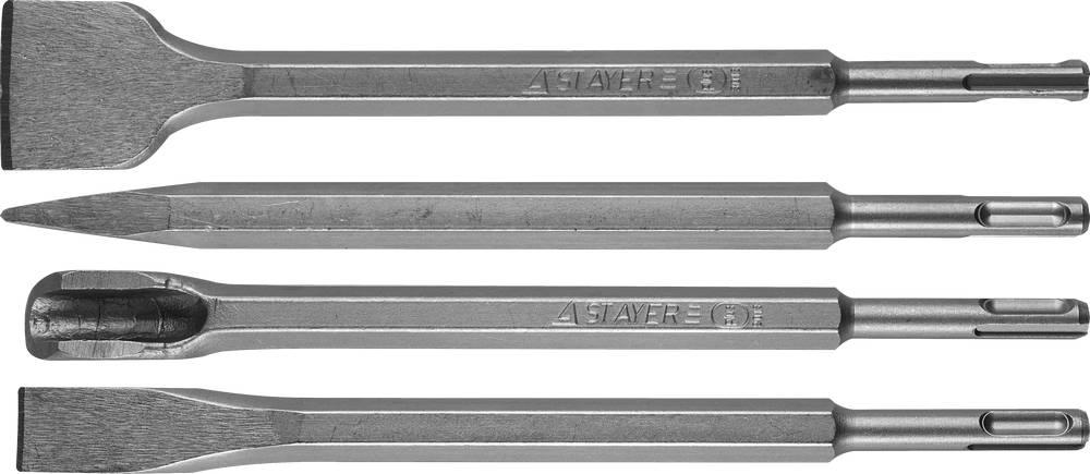 Зубило Stayer Professional 29359-h4 набор резьбонарезной трубный stayer professional 28260 h4