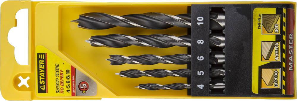Набор сверл Stayer Profi 2942-h5_z01 набор диэлектрических отверток stayer profi electro с тестером 8 предметов