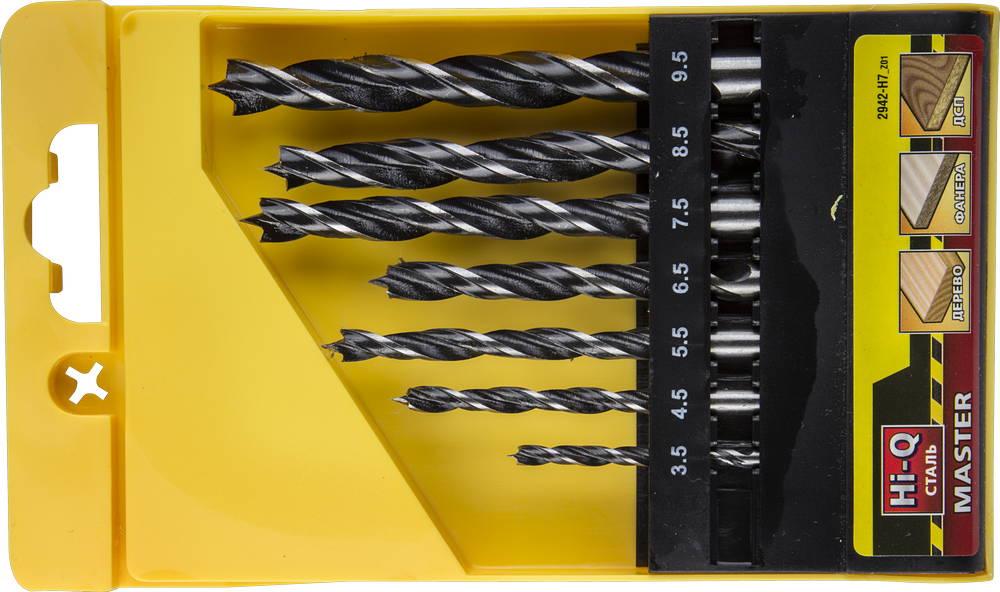 Набор сверл Stayer Profi 2942-h7_z01 набор диэлектрических отверток stayer profi electro с тестером 8 предметов