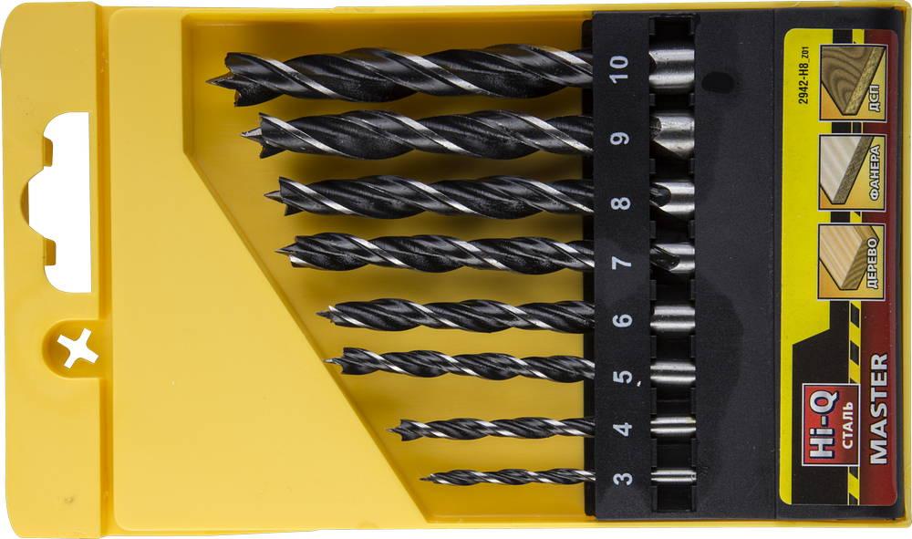 Набор сверл Stayer Profi 2942-h8_z01 набор диэлектрических отверток stayer profi electro с тестером 8 предметов