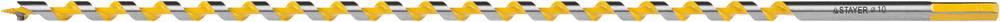 Сверло по дереву Stayer Profi 29475-450-10 лента stayer profi клейкая противоскользящая 50мм х 5м 12270 50 05
