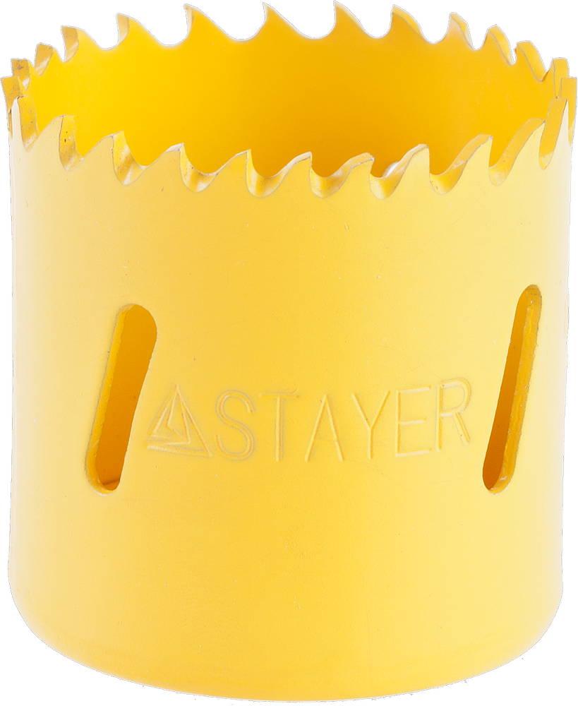 Коронка биметаллическая Stayer Professional 29547-038 коронка биметаллическая stayer professional 29547 133 d133мм