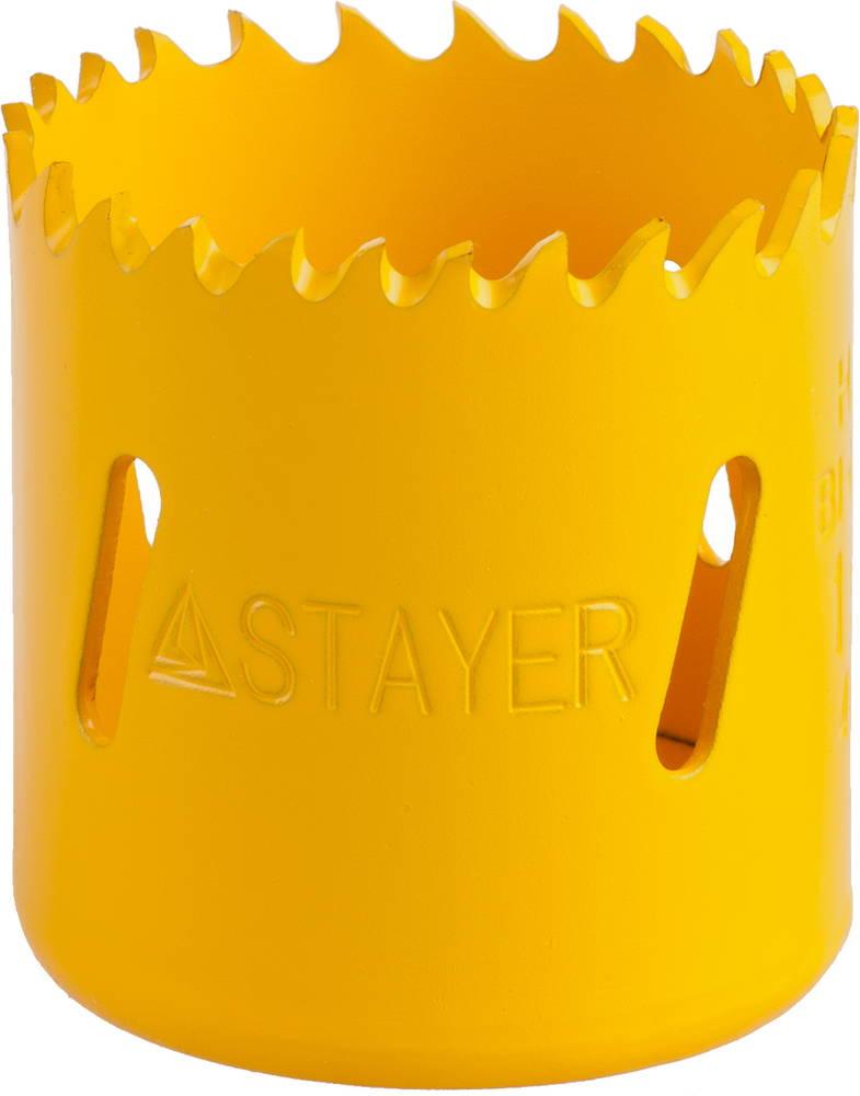Коронка биметаллическая Stayer Professional 29547-044 коронка биметаллическая stayer professional 29547 057