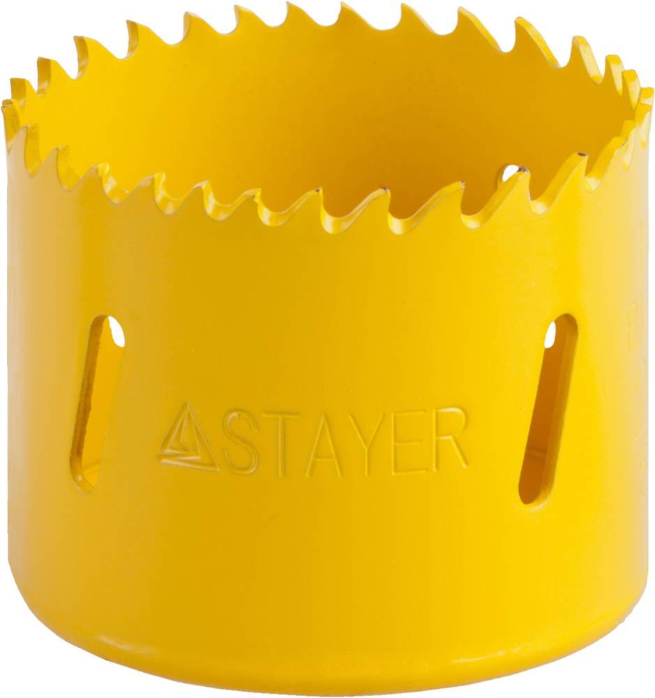 Коронка биметаллическая Stayer Professional 29547-054 набор резьбонарезной трубный stayer professional 28260 h4