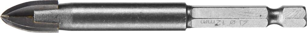 Сверло по плитке Stayer Profi 2985-12_z01 лента stayer profi клейкая противоскользящая 50мм х 5м 12270 50 05