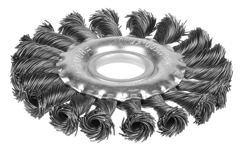 Кордщетка Stayer плоская 100мм для УШМ витая сталь (35120-100) кордщетка edge плоская 180мм для ушм витая сталь 813010013
