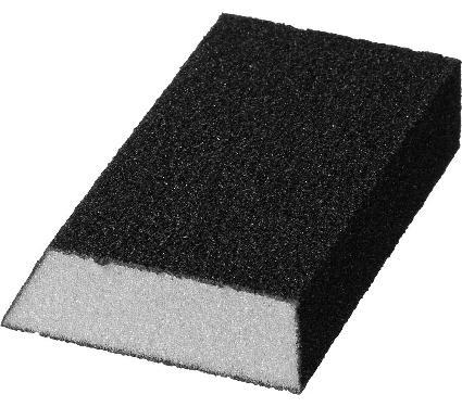Губка шлифовальная STAYER 100х68х26мм 80Р (MASTER 3561-080)