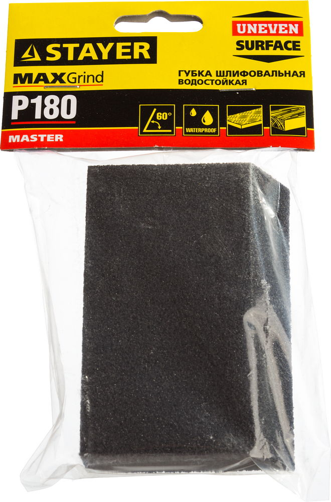 Губка шлифовальная Stayer Master 3561-180