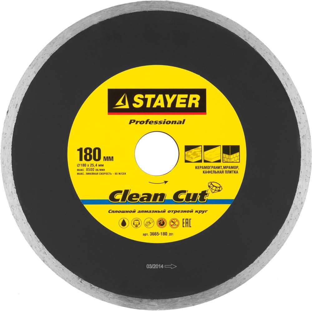 Круг алмазный Stayer Professional 3665-180_z01 краскораспылитель пневматический stayer professional с нижним бачком