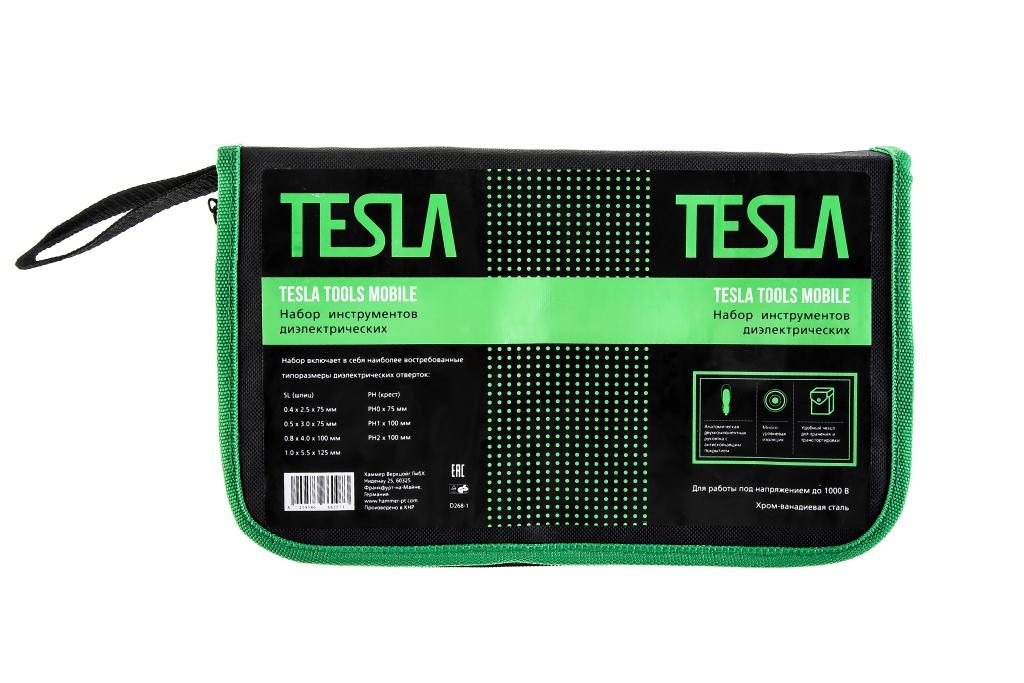 Набор диэлектрических отверток Tesla Set 1