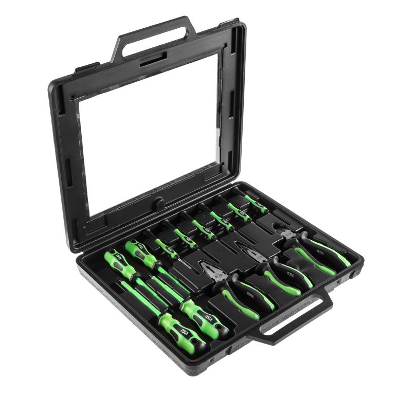 Набор диэлектрического инструмента Tesla Set 3 konad набор для стемпинга set
