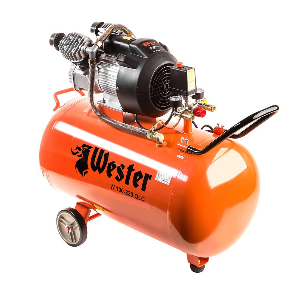 Компрессор Wester W 100--220 olc недорго, оригинальная цена