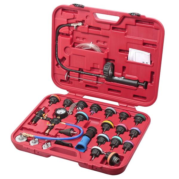Набор Jtc 4842a набор для тестирования давления в радиаторе многофункциональный в кейсе 27 предметов jtc 4842a