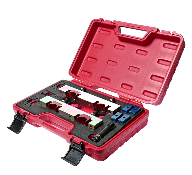 Набор Jtc 4266 набор инструментов для установки и регулировки фаз грм jtc для дизельных двигателей ford 51 предмет jtc jw0826