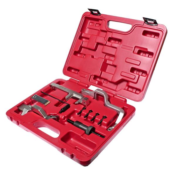 Набор Jtc 4915 набор инструментов для установки и регулировки фаз грм jtc для дизельных двигателей ford 51 предмет jtc jw0826