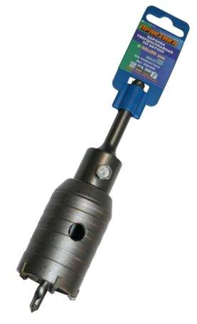 Коронка твердосплавная ПРАКТИКА Ф45мм sds+ (035-042) boxpop lb 042 45