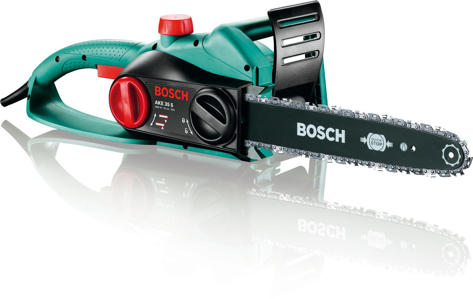 Пила цепная Bosch Ake 35 s (0.600.834.500) купить цепь длина шины 35 см шаг цепи 3 8 дюйм