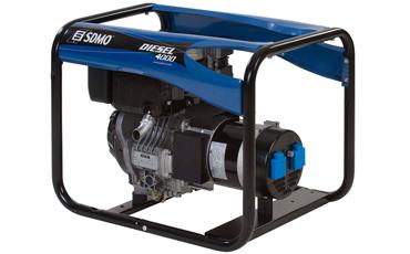 Дизельный генератор Sdmo Diesel 4000 sdmo vx 220 7 5h s