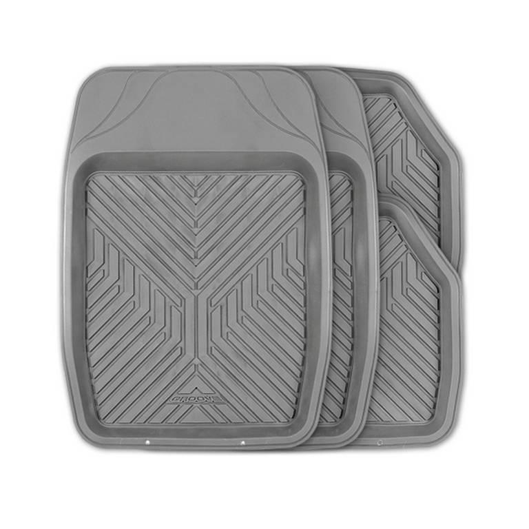 Коврики автомобильные Autoprofi Mat-150f gy коврики автомобильные автопрофи autoprofi transform термопласт цвет бежевый 2 шт