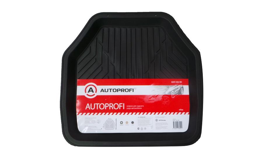 Коврики автомобильные Autoprofi Mat-150r bk коврики автомобильные автопрофи autoprofi transform термопласт цвет бежевый 2 шт