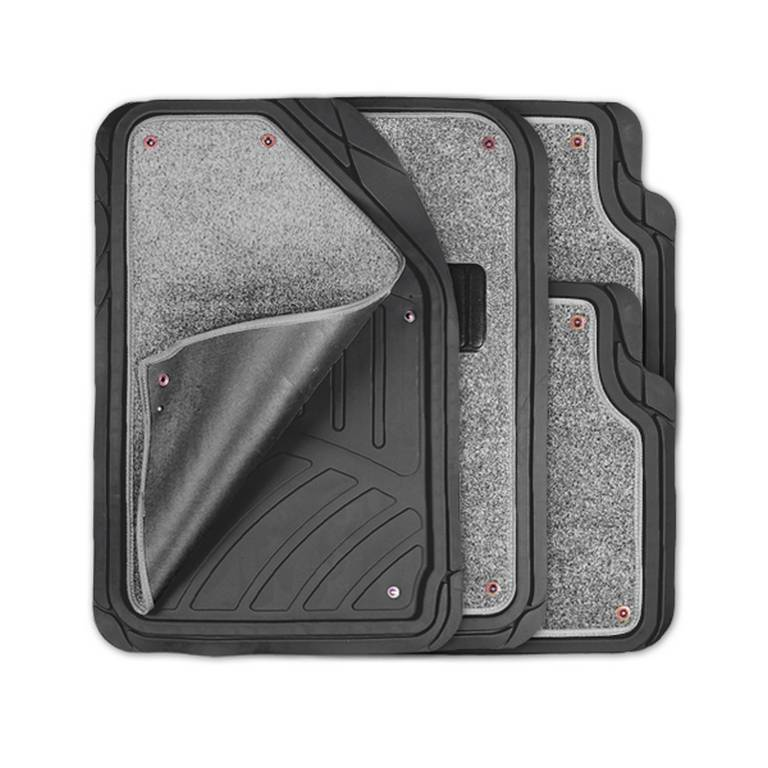 цена на Коврики автомобильные Autoprofi Mat-420 bk/gy