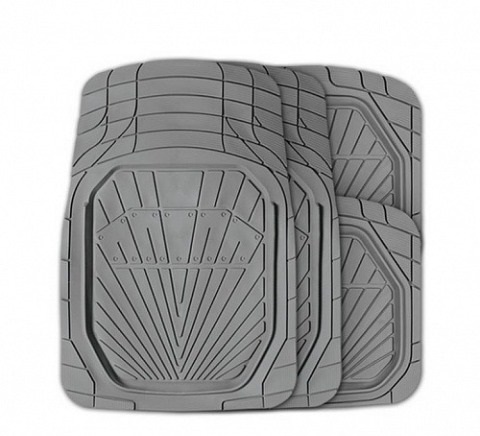 Коврики автомобильные Autoprofi Mat-510 gy коврики автомобильные автопрофи autoprofi transform термопласт цвет бежевый 2 шт