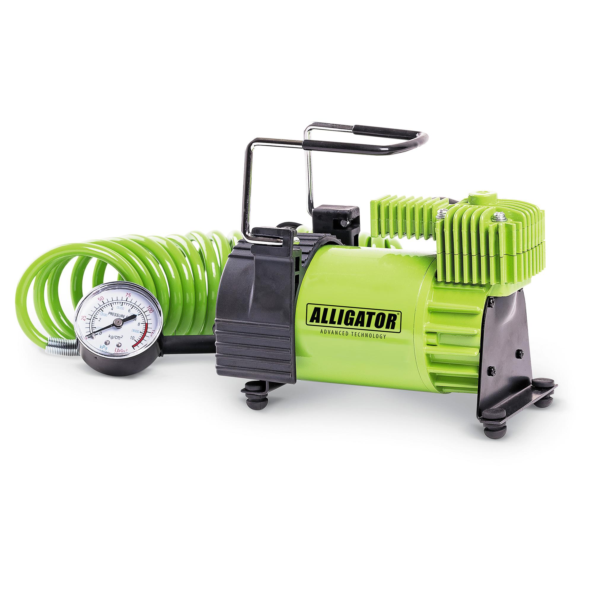 Фото - Компрессор Alligator Al-400 компрессор автомобильный alligator с защитой от перегрева al 400
