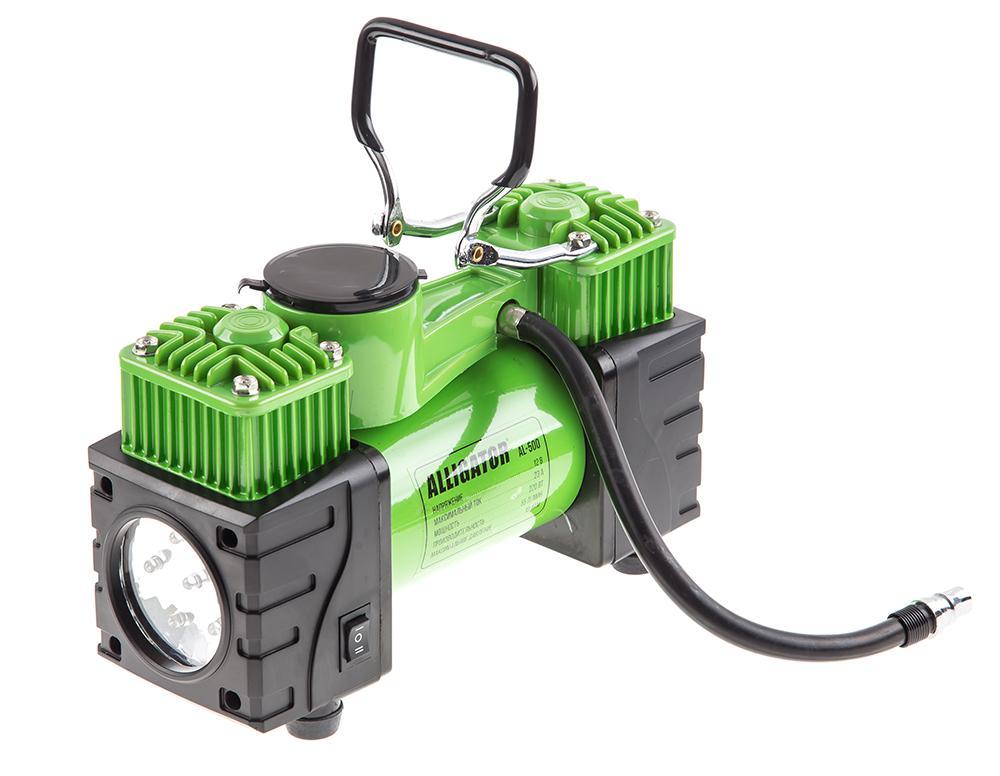Фото - Компрессор Alligator Al-500 компрессор автомобильный alligator с защитой от перегрева al 400