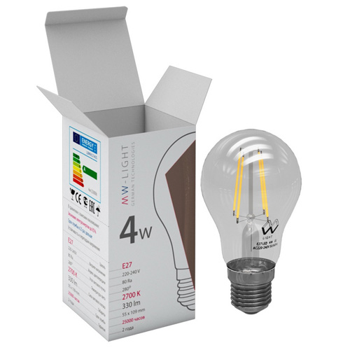 Лампа светодиодная Mw light Lbmw27a05