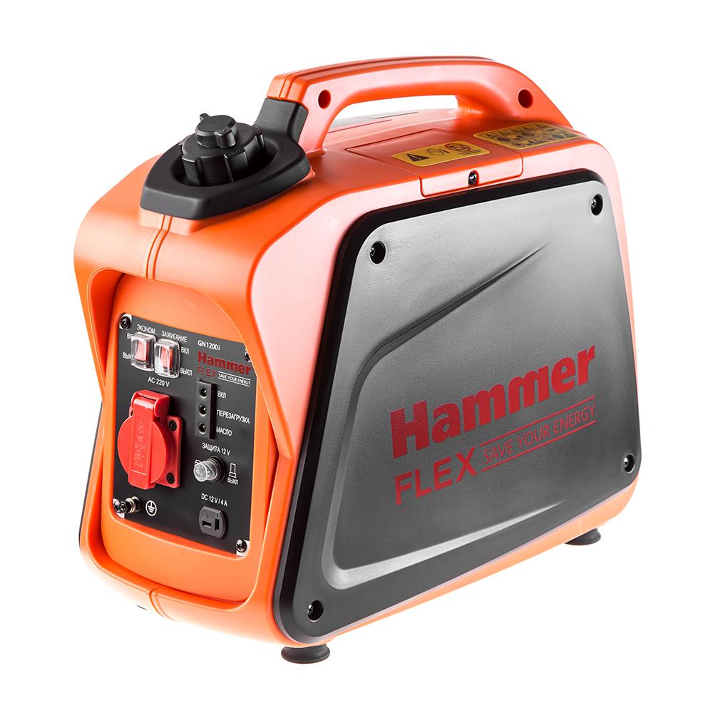 Инверторный бензиновый генератор Hammer Gn1200i