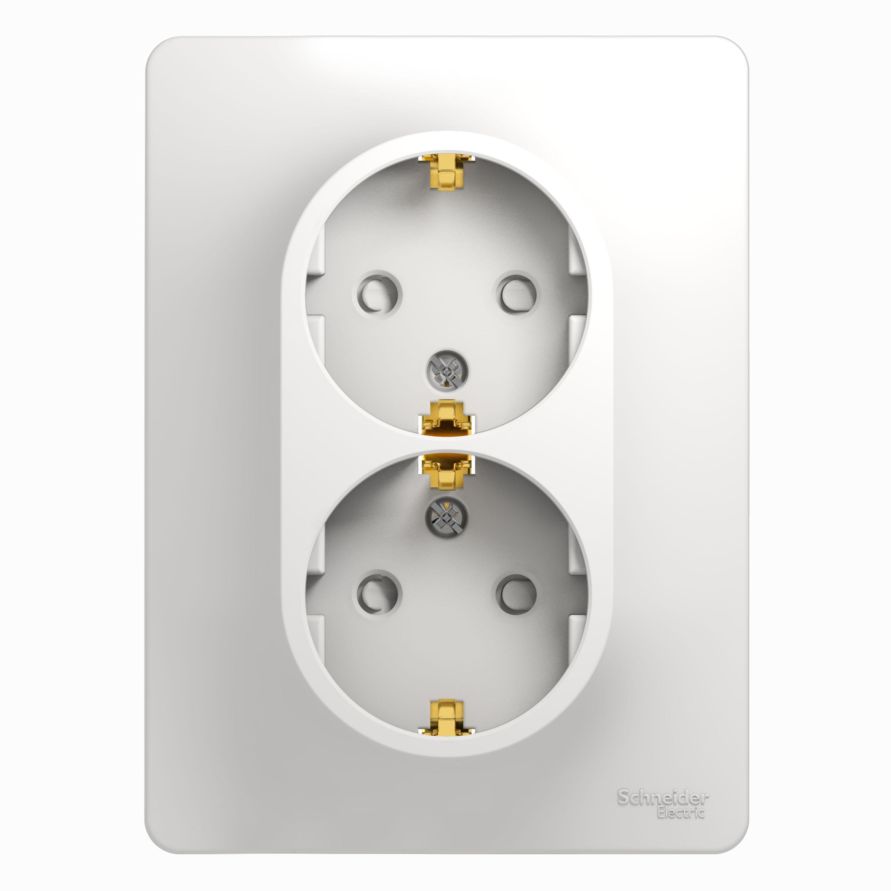 Розетка Schneider electric Gsl000126 glossa болторез stanley l 450 мм 18 1 95 564