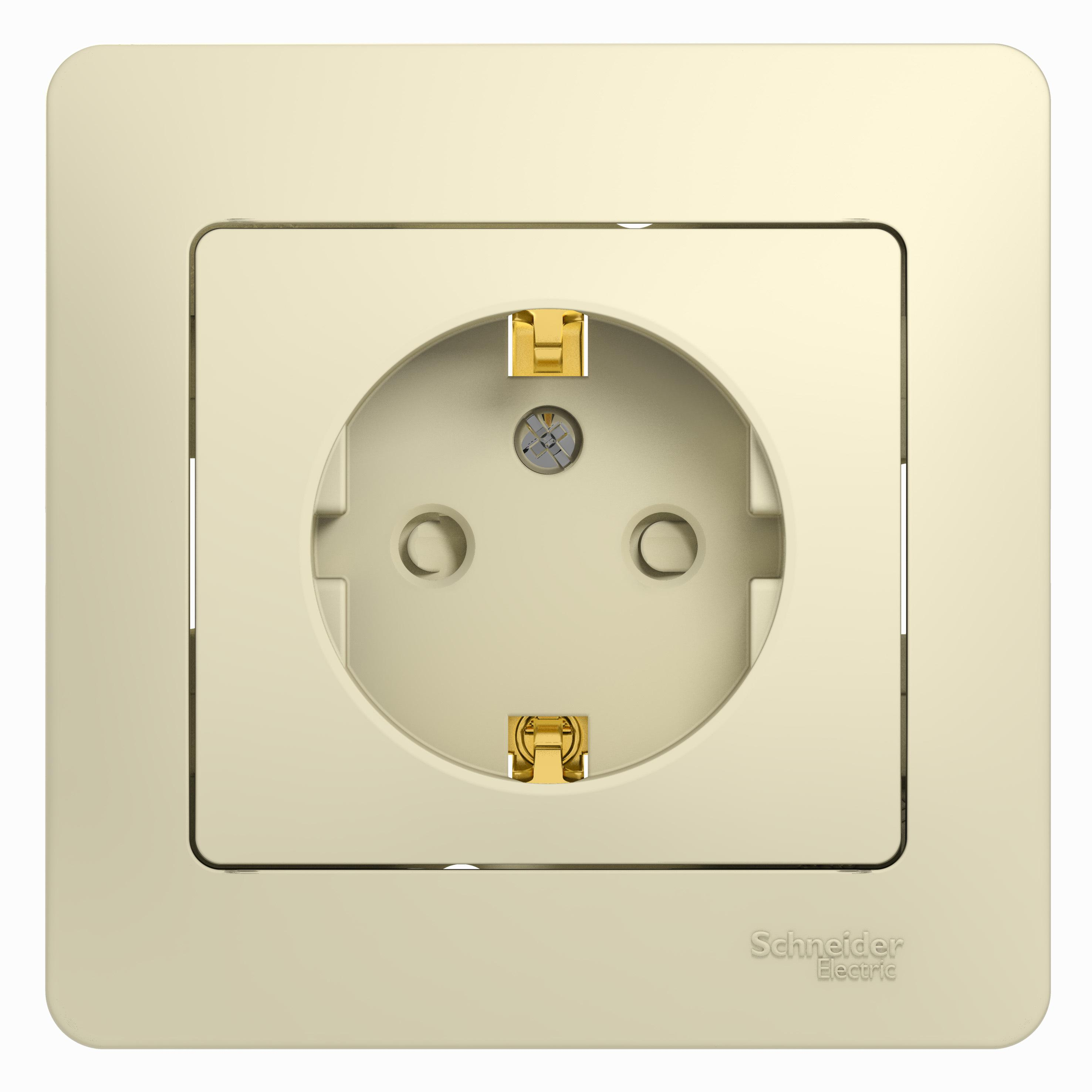 Розетка Schneider electric Gsl000244 glossa